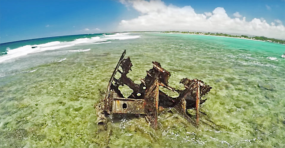 Explore the Ship Wreck
